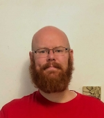 Daniel Hale the Lead Math Tutor at the learning center known as the Man with the beard